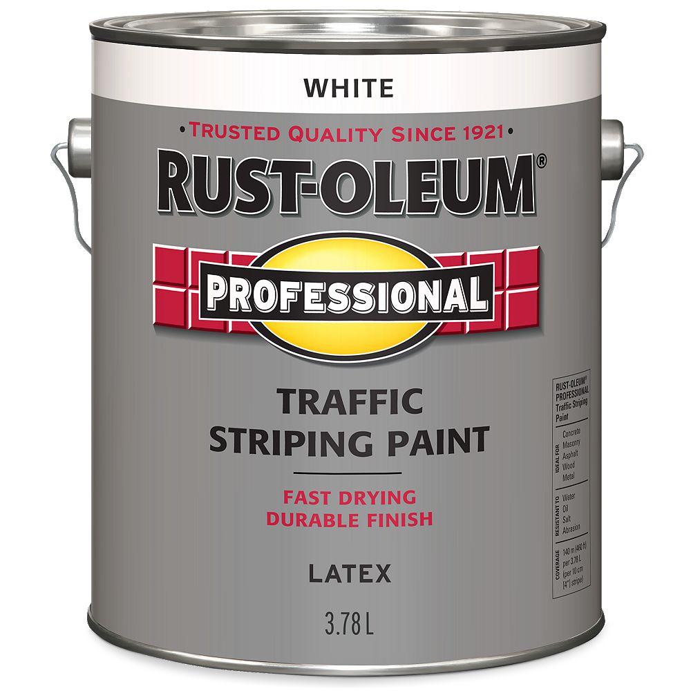 Rust-Oleum Professional Peinture De Lignage Pour Circulation En Blanc - 3.78 L
