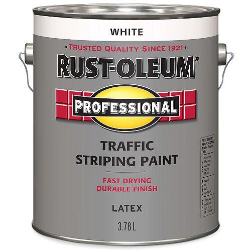 Peinture De Lignage Pour Circulation En Blanc - 3.78 L