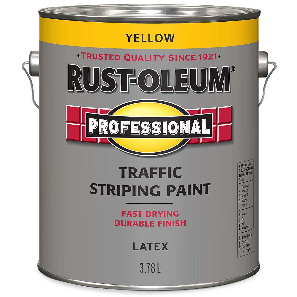 Rust-Oleum Professional Peinture De Lignage Pour Circulation En Jaune - 3.78 L