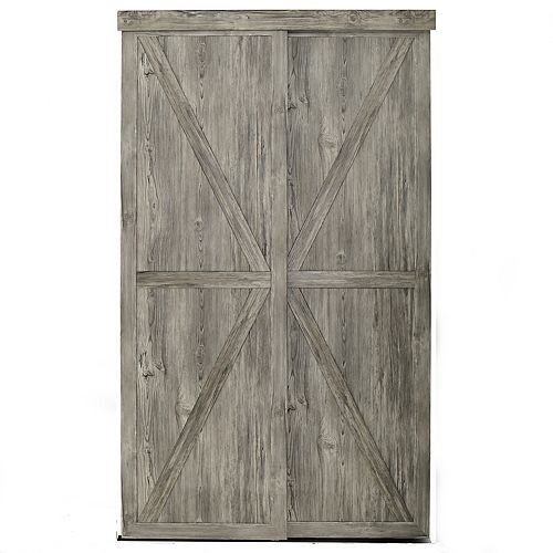 Porte coulissante 48 X 80 1/2 Countryside Antique