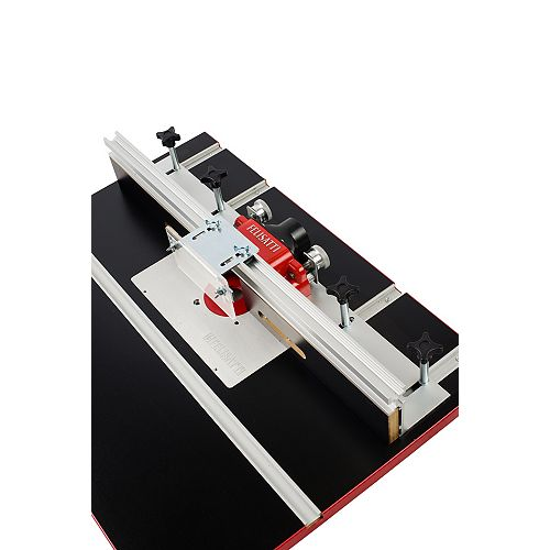 Premium Deluxe Router Table Fence System With Dual Micro-Adjustment