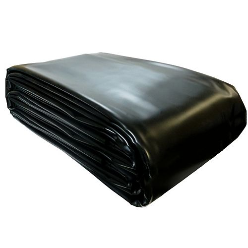 Pro Series 12 ft. x 16 ft. PVC 30 mil Pond Liner in Black