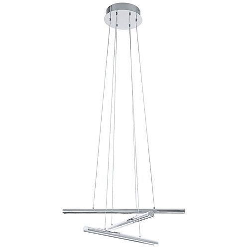 Terros Luminaire Suspendu DEL 3L, Fini Chrome- ENERGY STAR®