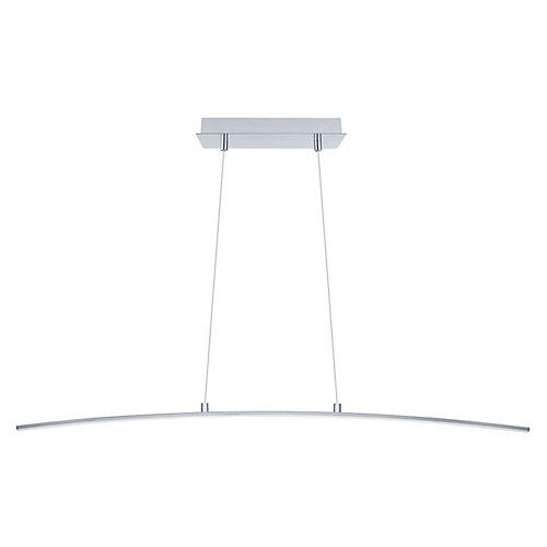 Lasana Luminaire Suspendu DEL 1L, Fini Chrome