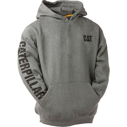 Dk Grey Trademark Banner Hooded Sweatshirt XL