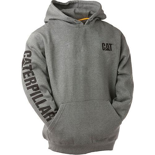 Dk Grey Trademark Banner Hooded Sweatshirt XXL