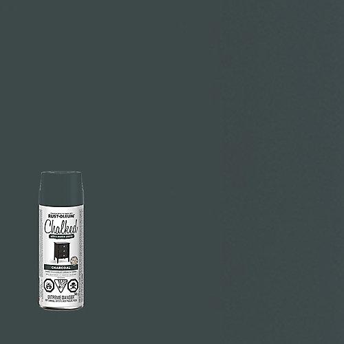 Peinture ultra-mate craquelée au charbon de bois, 340 g en aérosol