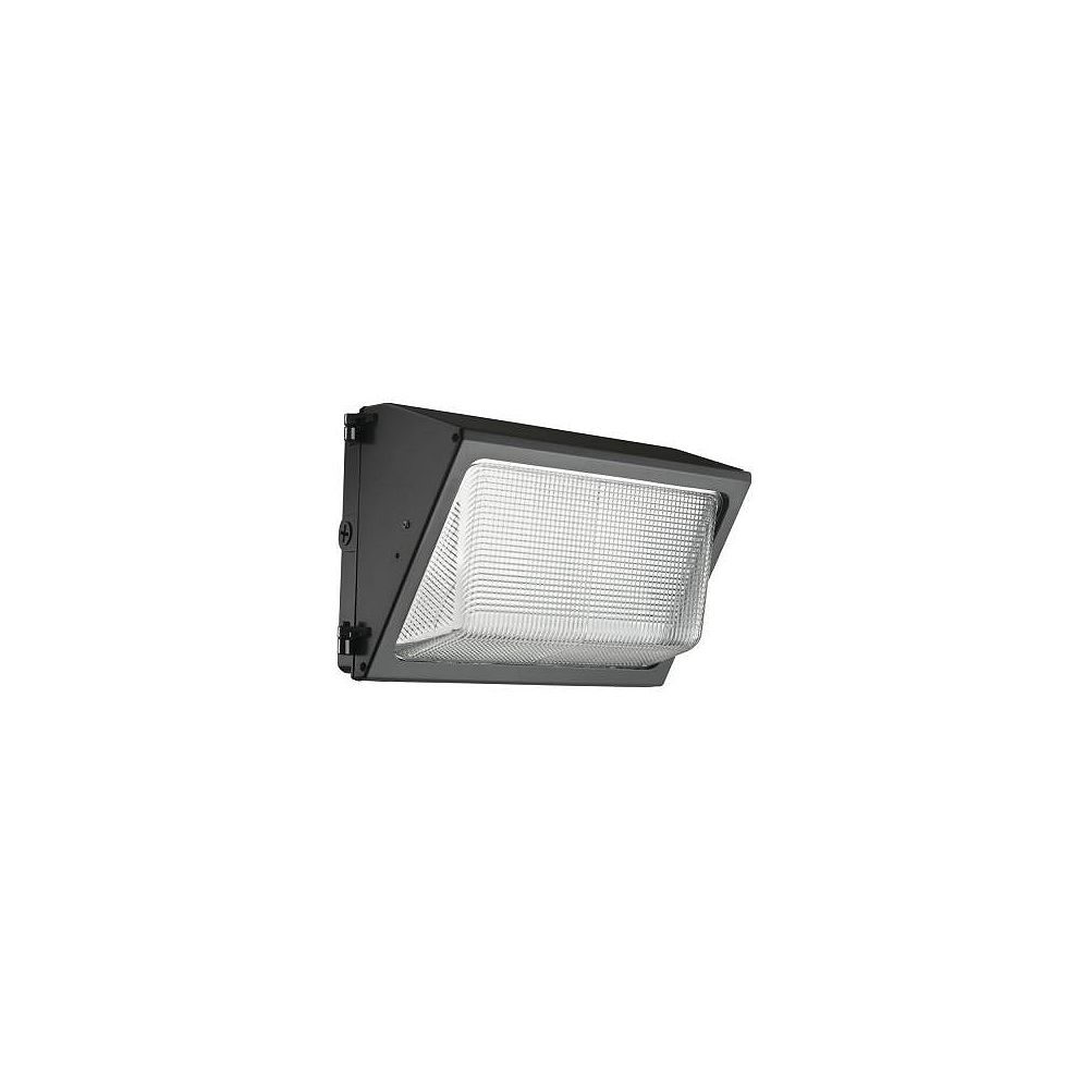 Lithonia Lighting Outdoor LED Small Wall Pack With Glass Lens - Dark Bronze