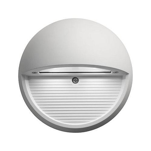 Outdoor / Indoor LED Step Mount Round Light - White