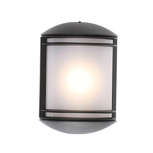 Outdoor LED Wall Mount Decorative Sconce in Dark Bronze