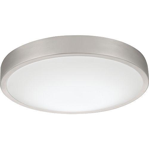 Lithonia Lighting Luminaire DEL encastré Lacuna en aluminium brossé de 35,5cm (14po)  3000K- ENERGY STAR®