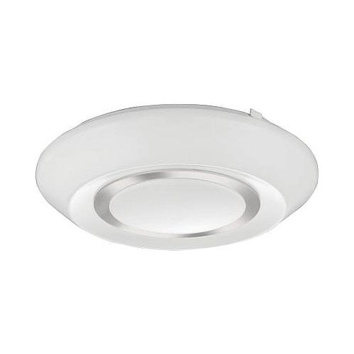 Lithonia Lighting 14 Inch  Glendridge LED Polished Silver Flush Mount - 3000K