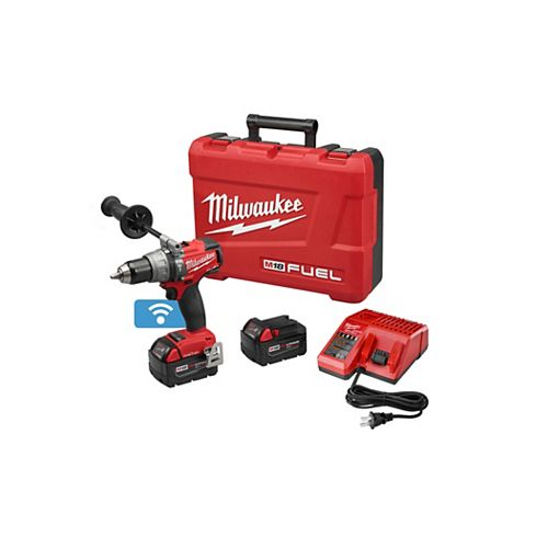 M18 FUEL 1/2 Inch  Hammer Drill/Driver with ONE-KEY Kit