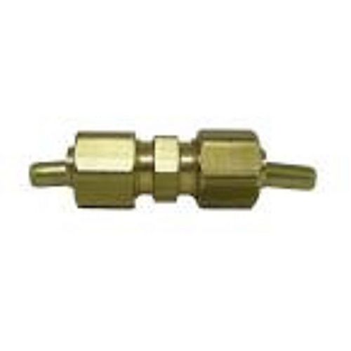 Ander-Lign 1/4 inch Brass Compression x Compression Union with Insert