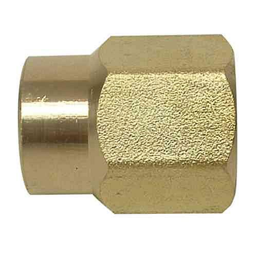 Sioux Chief 1/2 inch x 1/4 inch Lead-Free Brass FPT x FPT Coupling
