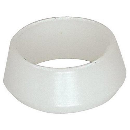 Manchon de compression 1/4 po en plastique Delrin