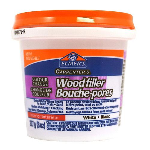 Colour Change Wood Filler, Interior, White 227g