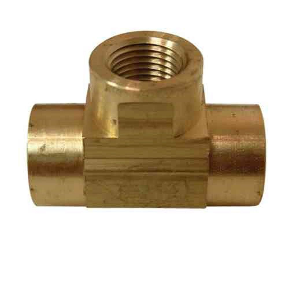 Sioux Chief 1/8 inch Lead-Free Brass FIP Tee