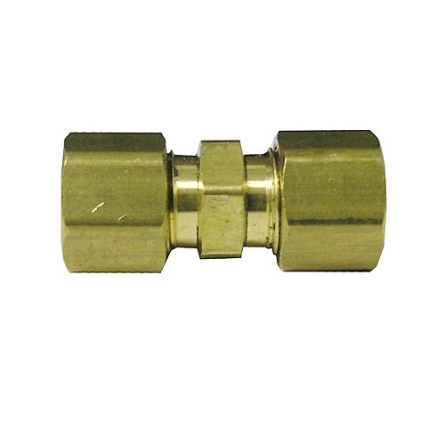 3/8 inch Compression Coupling Lead Free (5-Pack)