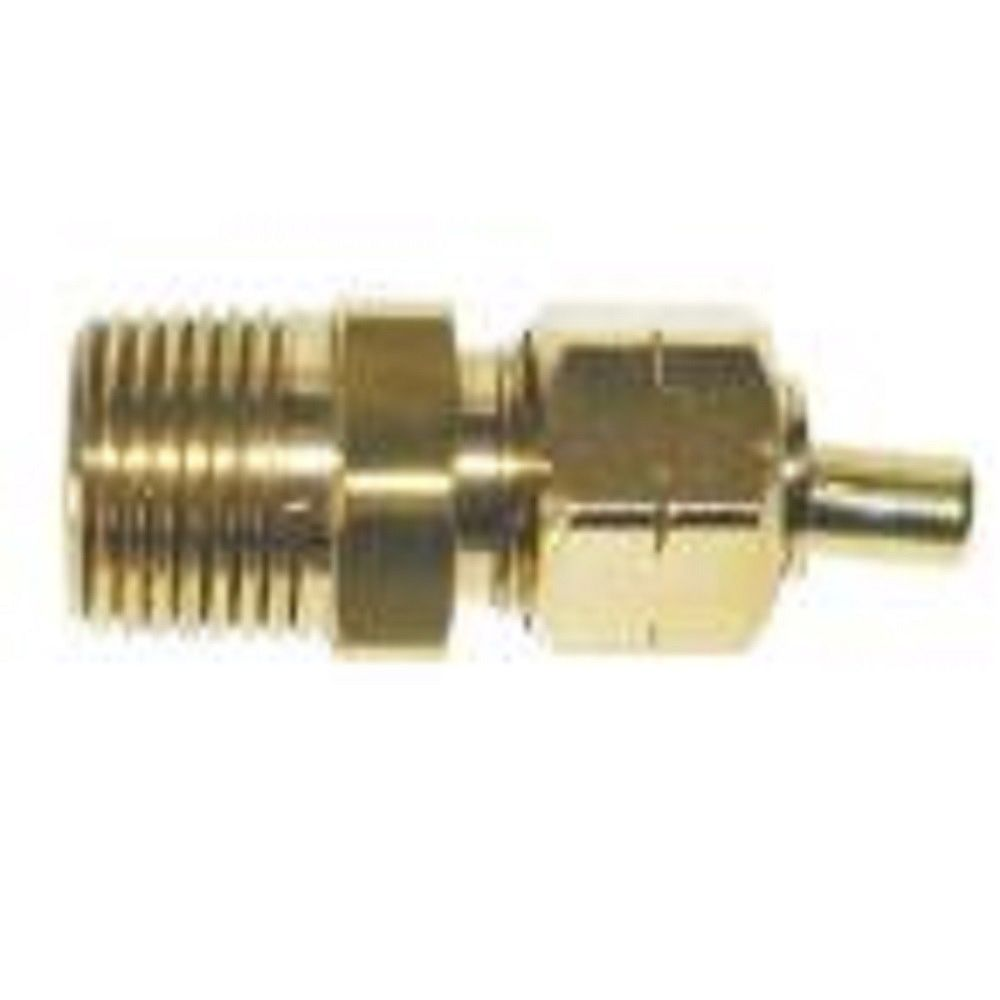 Sioux Chief 1/4 inch Ander-Lign Adapter X 1/2 inch MIP Lead-Free