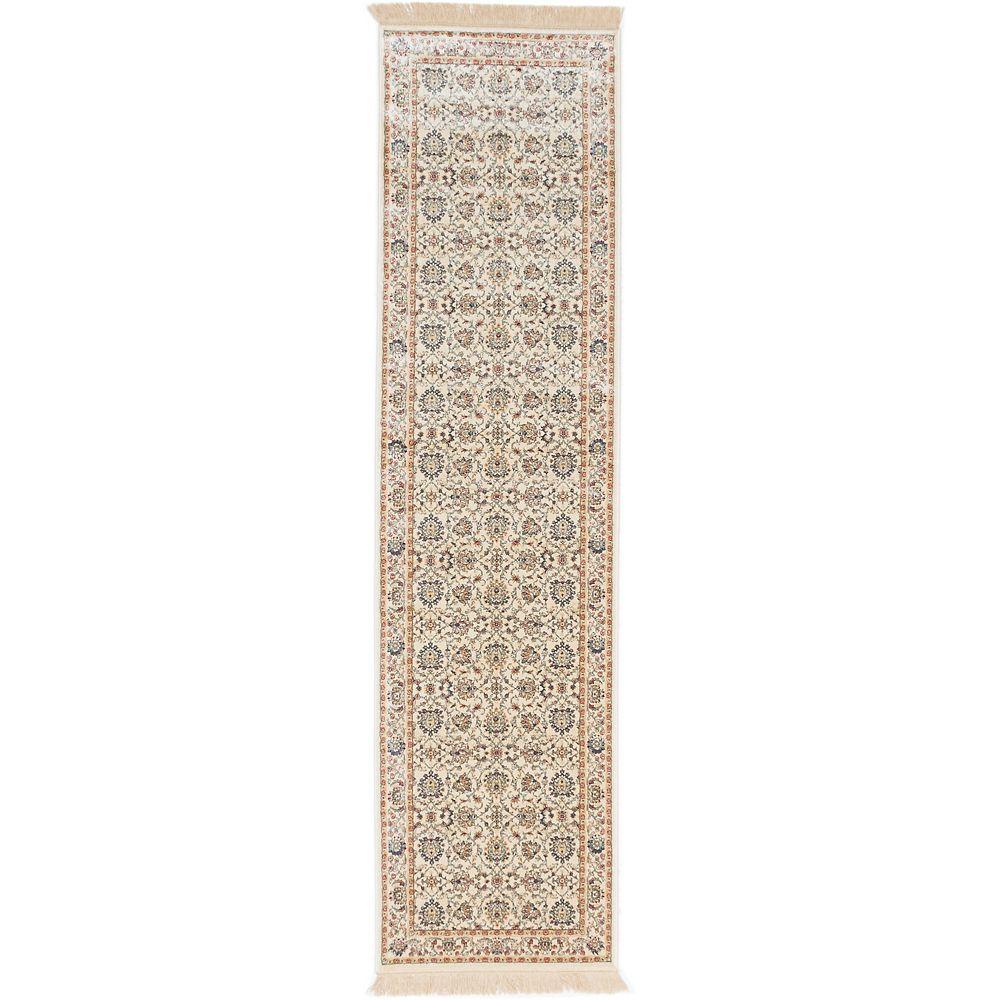 ECARPETGALLERY Shiravan Beige Tan 2 ft. 6-inch x 9 ft. 10-inch Area Rug