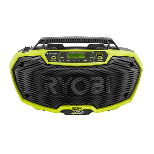 18V ONE+ Hybrid Stereo with Bluetooth Wireless Technology