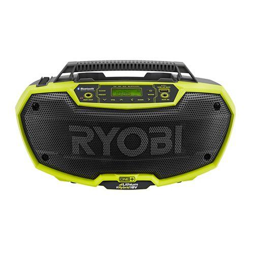 Radio stéréo hybride Bluetooth, 18 V