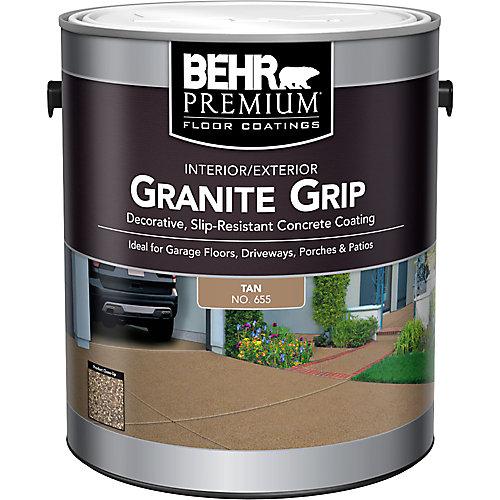 Interior/Exterior Granite Grip - Tan, 3.79 L