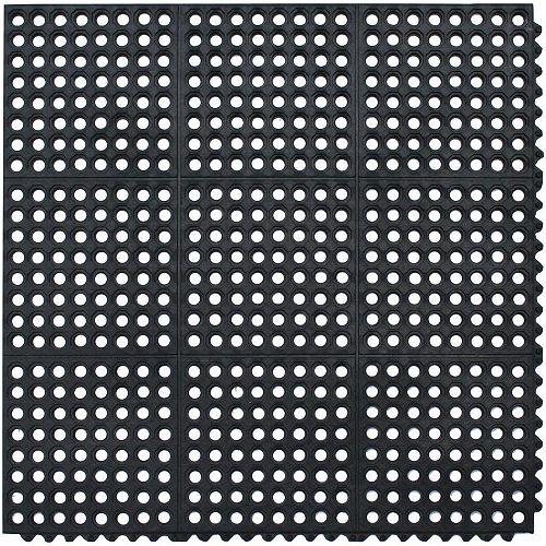 TAPIS ANTIFATIGUE DE QUALITE COMMERCIALE DE 90.9 CM X 90.9CM