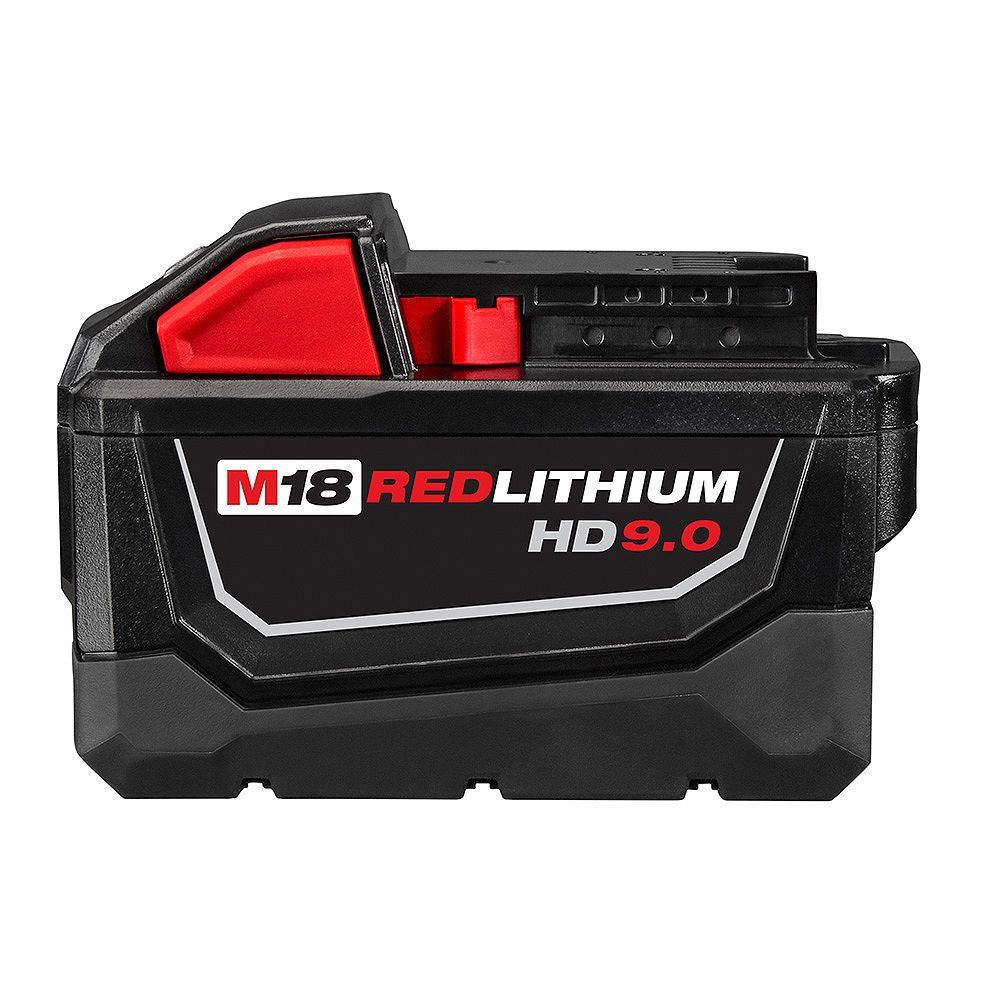 Milwaukee Tool M18 18V Lithium-Ion High Demand (HD) 9.0 Ah REDLITHIUM Battery Pack