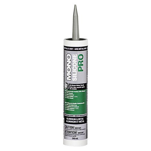 Silicone PRO Premium Silicone Concrete & Masonry Sealant  Grey  290 ml