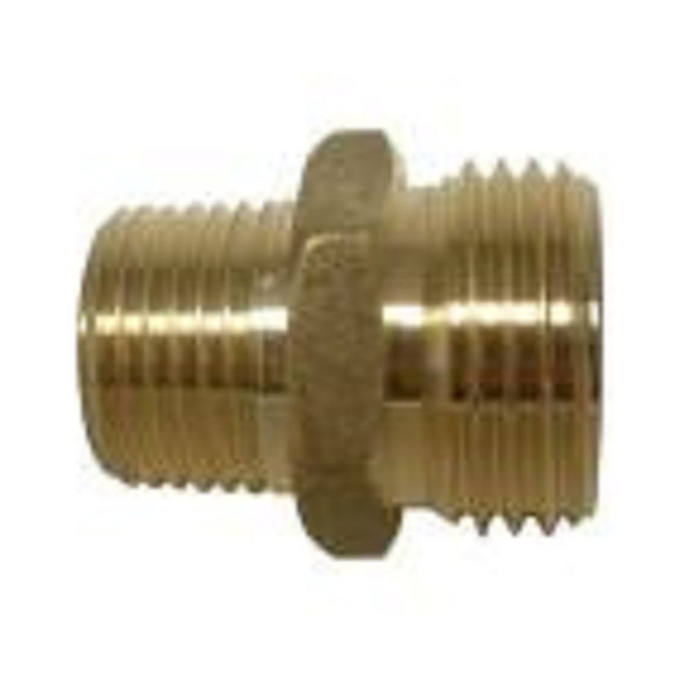 Sioux Chief 3/4 inch Lead-Free Brass MGH x MGH Adapter