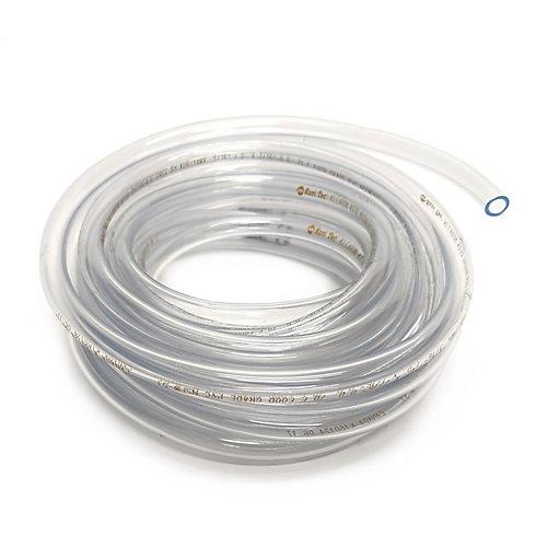Clear Vinyl Tubing, 5/16 Inch Inside Diameter X 7/16 Inch Outside Diameter X 20 Ft Coil