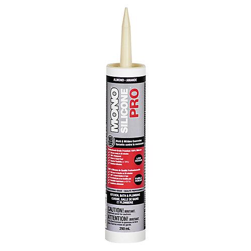 Silicone PRO Premium Silicone Rubber Kitchen & Bath Sealant Almond - 290ml