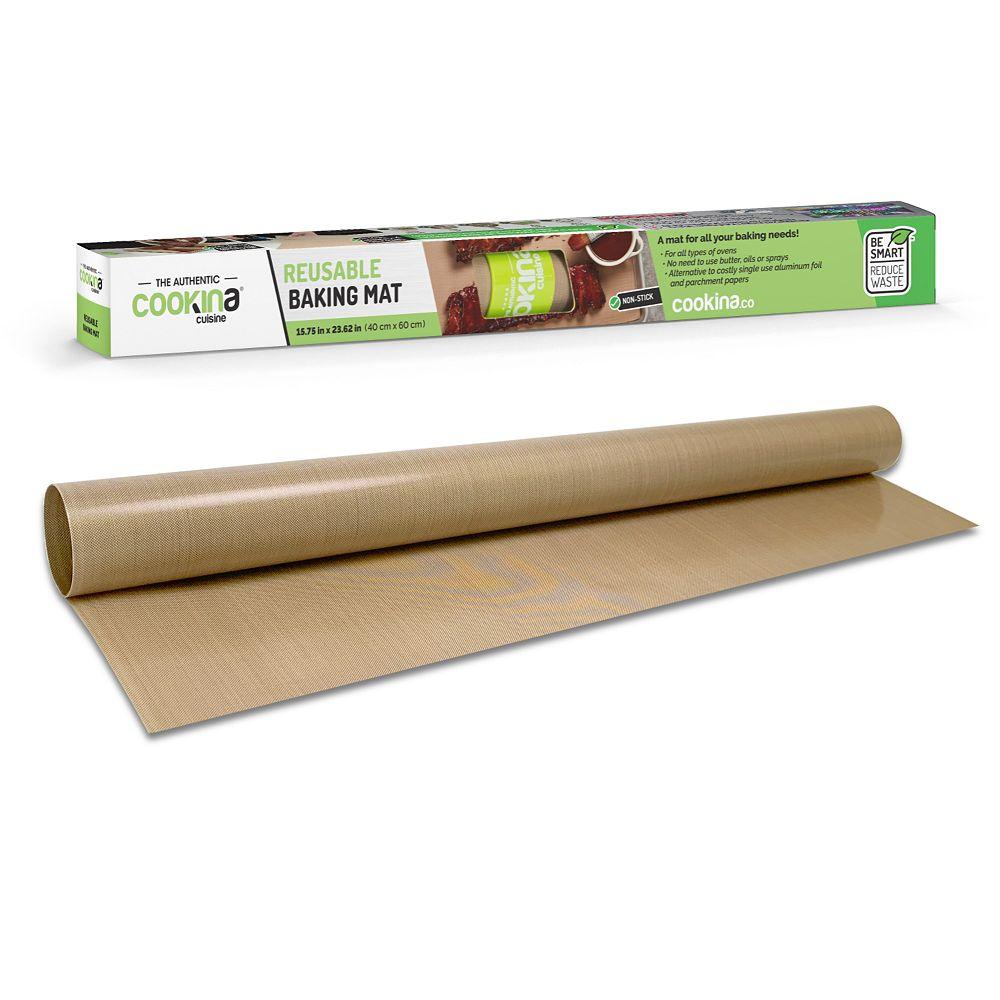 Cookina Feuille de cuisson réutilisable COOKINA Cuisine - 40 cm  x 60 cm