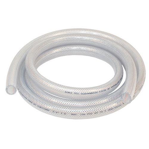 """Tube en Vinyle Tressé de 1""""diamètre intérieur x 1 3/8"""" diamètre extérieur"""