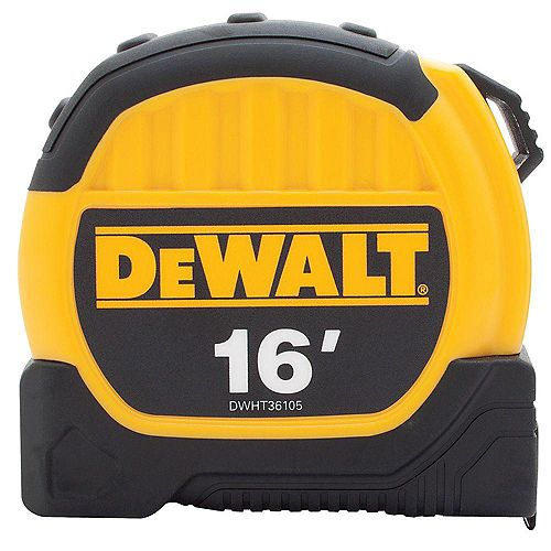 DEWALT 16 ft. x 1-1/8-inch Tape Measure