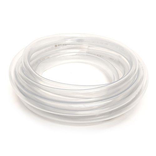 """Tube de Vinyle Clair diamètre intérieur1/2""""X diamètre extérieur 5/8""""X bobine 10 pi"""