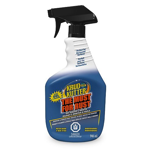 The Must For Rust Remover Gel 946ML