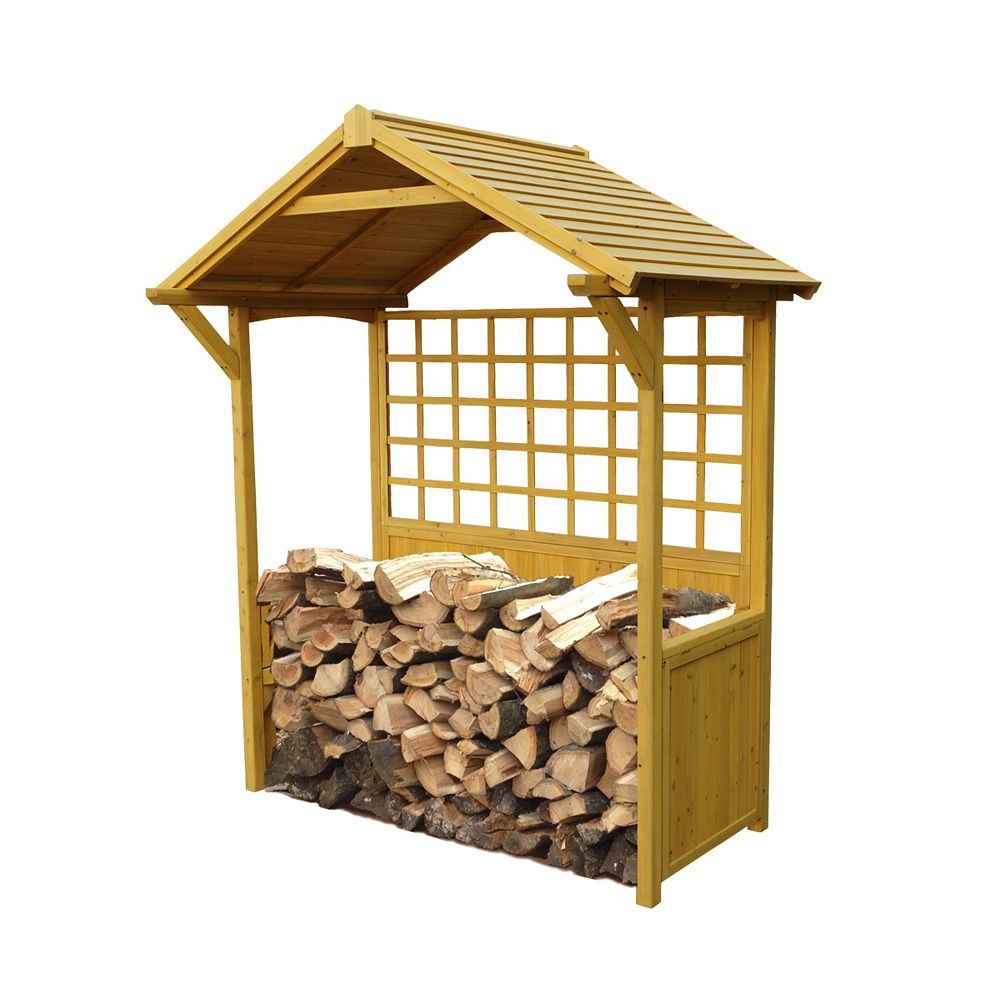Leisure Season Firewood Storage Shed