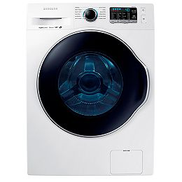 2.6 cu. ft. Compact Front Load Washer in White