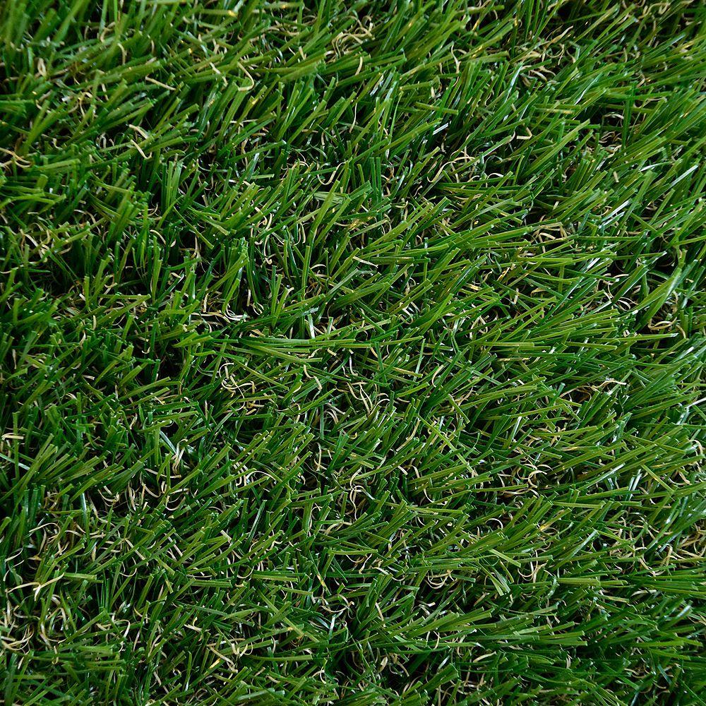 Lanart Rug Grass Shag Green 8 ft. x 10 ft. Indoor/Outdoor Contemporary Rectangular Area Rug