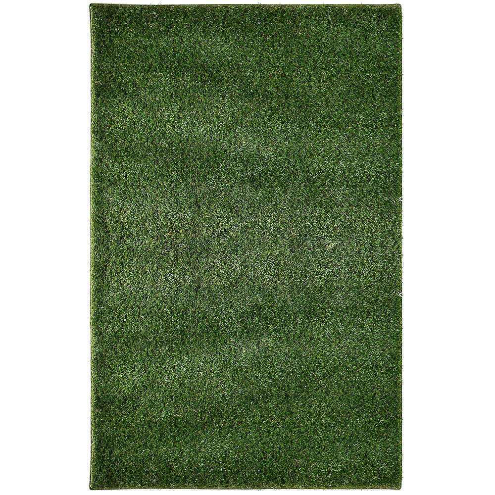 Lanart Rug Grass Shag Green 8 ft. x 12 ft. Indoor/Outdoor Contemporary Rectangular Area Rug