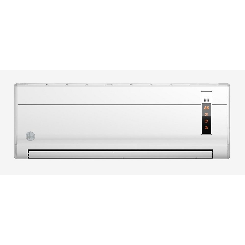 Rheem 18,000 BTU Ductless Mini Split Air Conditioner with Heat.
