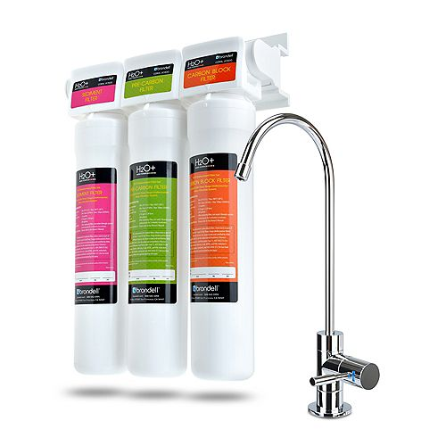 Brondell Coral 3-Stage Undercounter Water Filteration System