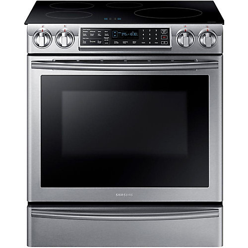 5.8 cu. ft. Induction Slide-In Range with Wi-Fi