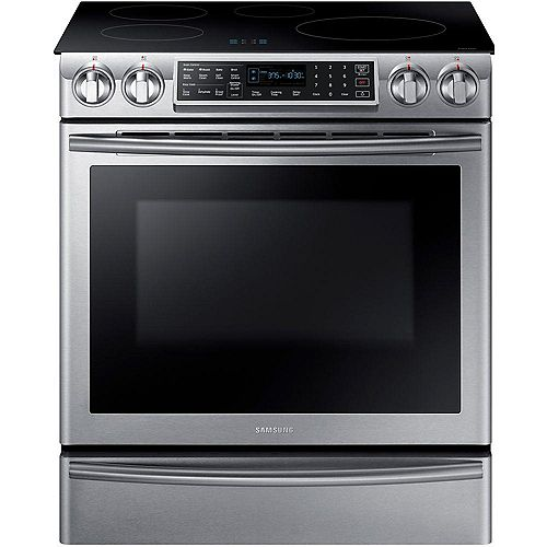 5.8 cu.ft. Induction Range with Self-Cleaning Convection Oven and Wi-Fi in Stainless Steel