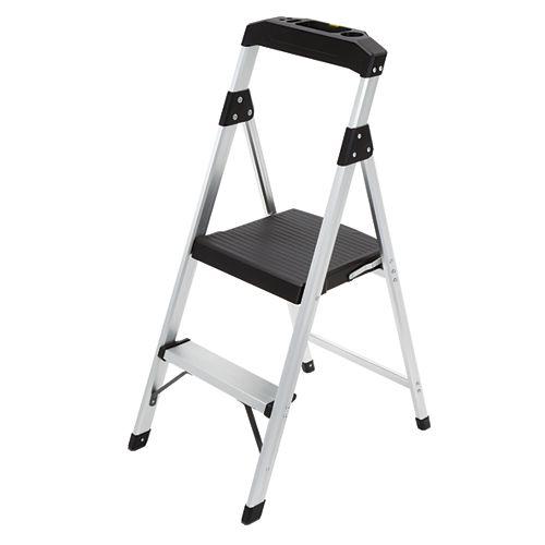 2-Step Lightweight Aluminum Step Stool