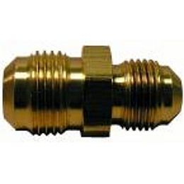 1/2 inch x 3/8 inch Lead-Free Brass Flare Reducing Union
