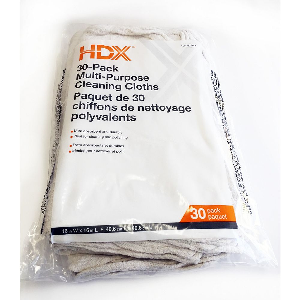 HDX Cleaning Cloth (30-Pack)